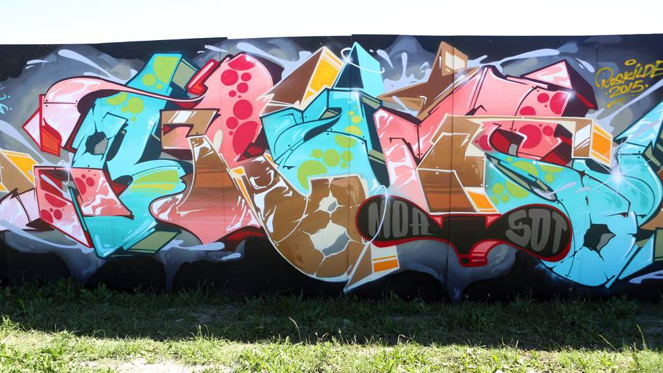 LARS PEDERSON WELIN ROSKILDE GRAFFITI VANTAGEPOINTRADIO